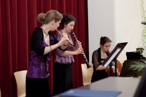 Konzert in der Handelshochschule Leipzig