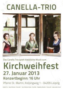 Kirchweihfest am 27. Januar 2013